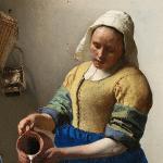 La lechera, Johannes Vermeer.