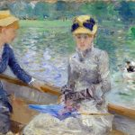 Día de verano, Berthe Morisot.