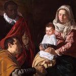 Adoración de los Reyes Magos, Diego Velázquez